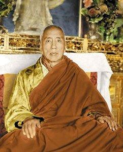 Portrait of Jamyang Khyentse Chökyi Lodrö