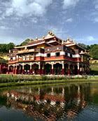 Temple at Lerab Ling