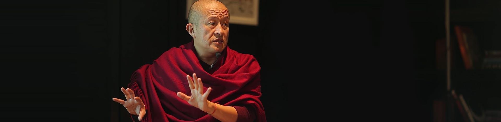 Dzongsar Khyentse Rinpoche portrait
